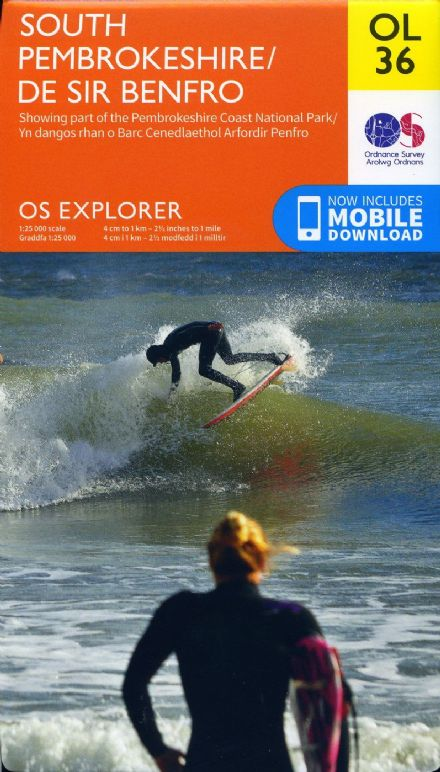 OS Explorer OL 36 South Pembrokeshire